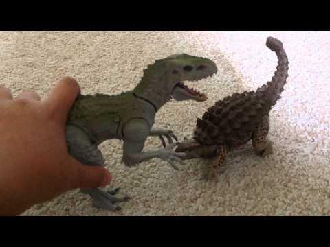 Разборные фигурки Динозавров HASBRO Мир Юрского Периода (Ankylosaurus), (B1196/B2161)