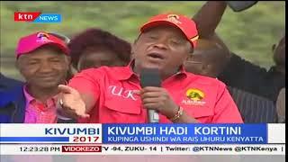 Kauli ya Uhuru Kenyatta kuhusiana na wizi wa kura wakati wa kampeni SUBSCRIBE to our YouTube channel for more great...