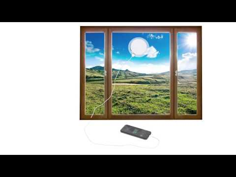 Eco Corporate Gift Solar Charger by Brand Innovation