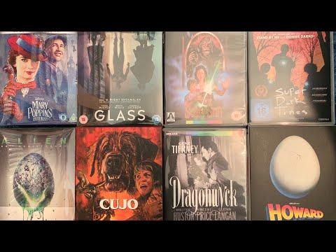 April 2019 Blu Ray/4k collection update. Disney, steelbook, arrow, 101, eureka & indicator