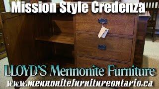 Mennonite Mission Style Credenza