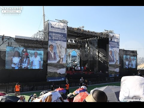 Day 1 of the Nazareth crusade with TB Joshua 23/06/2019