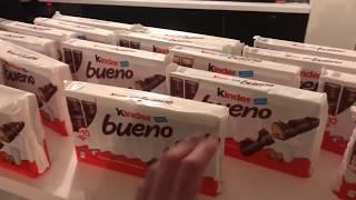 KENNY ACHETE POUR 310 EURO DE KINDER BRUENO