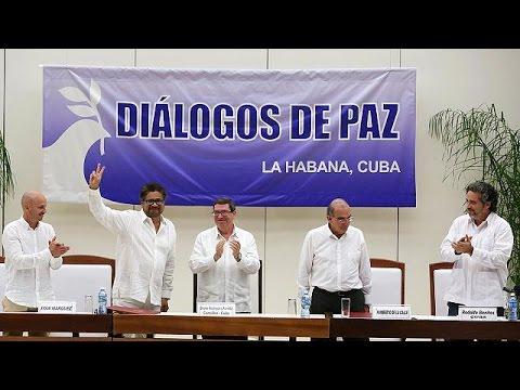 Νέα εποχή στην Κολομβία: Συμφωνία ειρήνευσης με τους αντάρτες