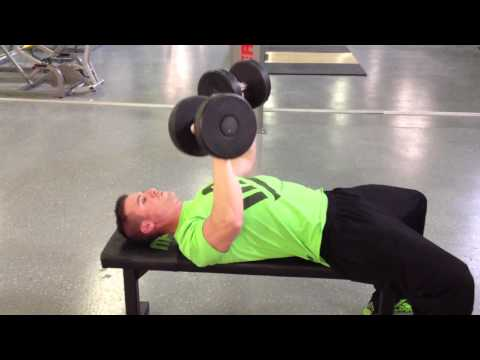 Flat Dumbbell Bench Press  -  5 Count Up, 5 Count Down Method