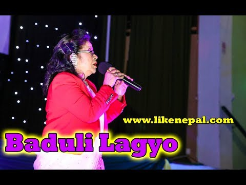 (Baduli Lagyo Baduli - Nepali Superhit Song by Mira Rana || Live in UK - Duration: 4 minutes, 33 seconds.)