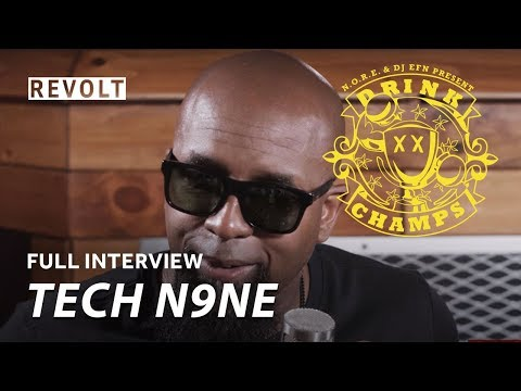 Tech N9ne | Drink Champs (Full Episode)