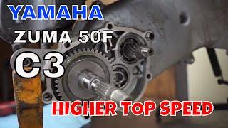 6. How to install a gear set on a Yamaha Zuma c3 or vino