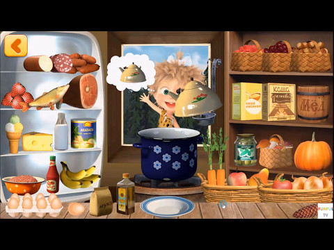 Masha And Bear Cooking Dash Android Game By Indigo Kids