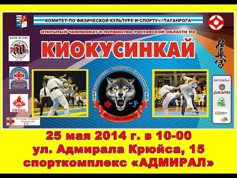 Открытый Чемпионат Ростовской области по киокусинкай {ВИДЕО}