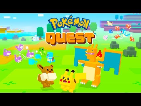 Pokémon Quest Android / IOS Gameplay (by The Pokemon Company)