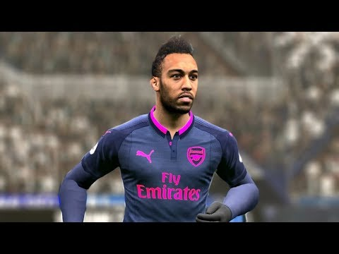 Swansea Vs Arsenal (Aubameyang Scored 3 Goals) 30 January 2018 Gameplay