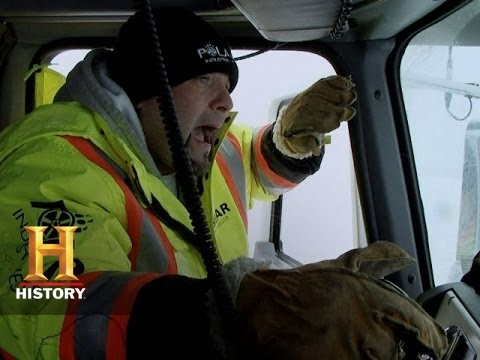Ice Road Truckers: The Most Dangerous Crossing of Todd's Life (S9, E3)   History