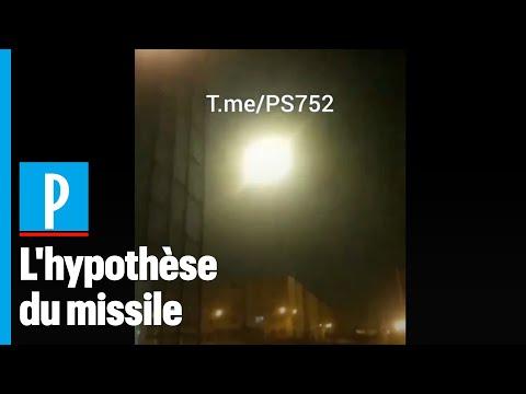 Iran : la vidéo qui montrerait que le Boeing ukrainien a été touché par un missile