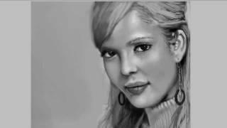 Speedpaint: 2 Hours - Jessica Alba Portrait
