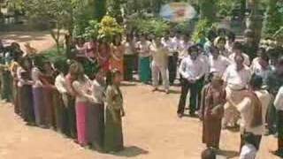 Khmer Culture - PonleuNeakHos Outdoor Scene-Traditional Games