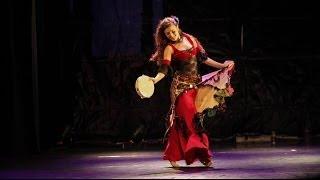 Mor Geffen-gypsy turkish dance with tambourine-klezmerfor the sultan