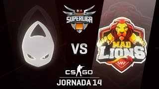 X6TENCE VS MAD LIONS E.C. - MAPA 1 - SUPERLIGA ORANGE - #SUPERLIGAORANGECSGO14