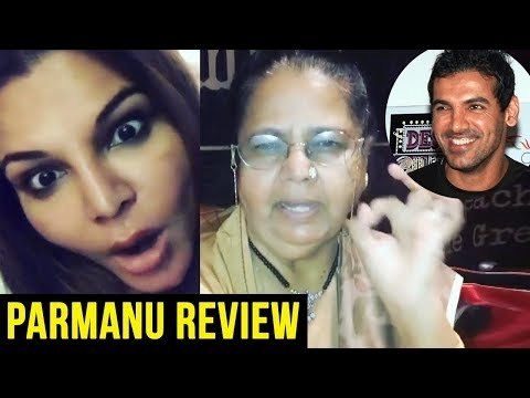 Parmanu FUNNY Movie Review By Rakhi Sawant And Her