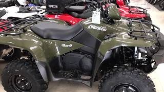 7. 2018 Suzuki KingQuad 750