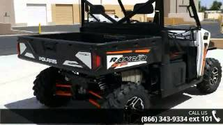 3. 2015 Polaris Ranger XP 900 EPS White Lightning  - RideNow...