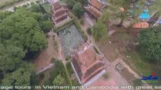 Hung Yen Vietnam  city photos gallery : [ FLYCAM] Nom Pagoda (Hung Yen Province ) - Chùa Nôm ( Hưng Yên )