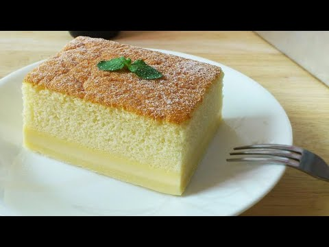 How to Make Magic Custard Cake (魔术卡士垯蛋糕) **