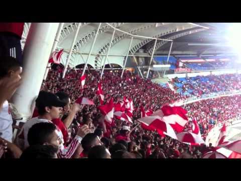 Yo te sigo hasta el final - Barón Rojo Sur - L.H.D.L.C América vs Real Santander - Baron Rojo Sur - América de Cáli