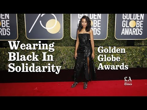 Why Did You Wear Black To The Golden Globes | Los Angeles Times