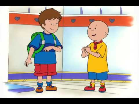 Caillou S02 E84 I Caillou's Cross Word / Caillou Meets Robbie / The Pinata / Caillou's Promise
