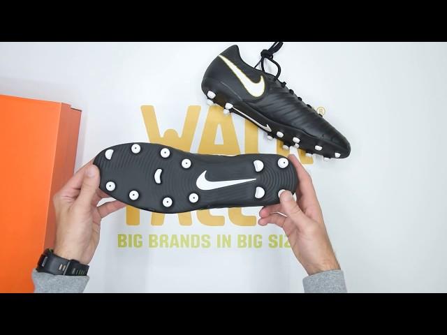 Nike Tiempo Rio IV (FG) - Black White - Unboxing | Walktall - Buzzenjoy.com