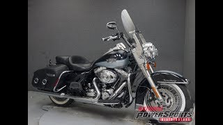 9. 2012  HARLEY DAVIDSON  FLHRC ROAD KING CLASSIC W/ABS - National Powersports Distributors
