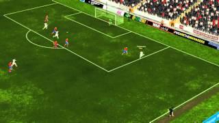 Beautiful goal by Tornike Okriashvili to make it 2-0