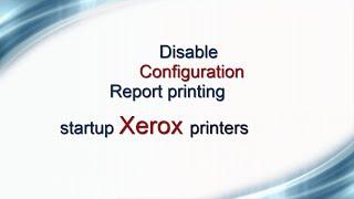 If, every time when start  Xerox printer,   print the report configuration Type the following button combination to disable Machine Status – SYSTEM  SETUP -  MACHINE SETUP-  CONFIGURATION PAGE – OFF -OKUse cartridge without cip http://www.ereset.com/xerox/Daca,  la fiecare pornire imprimanta Xerox listeaza raportul configuration tasteaza urmatoarea combinatie de butoane pentru dezactivare. Machine Status  – SYSTEM  SETUP -  MACHINE SETUP-  CONFIGURATION PAGE – OFF -OKUtilizare cartuse fara cip http://www.ereset.com/xerox/