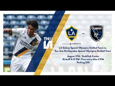 Video: TEASER: LA Galaxy Special Olympics Unified vs. San Jose Earthquakes Special Olympics Unified