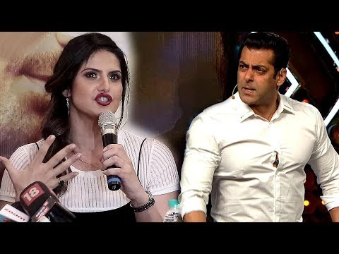 Zareen khan SHOCKING Comment On Salman khan At Aksar 2 Trailer Launch
