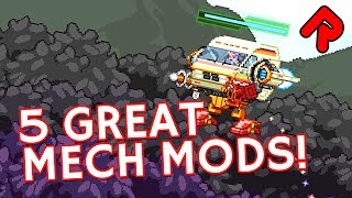 We play with 5 Starbound Mech mods that give you custom bodies, weapons & horns for your Starbound 1.3 mech! ▻ Subscribe: ...