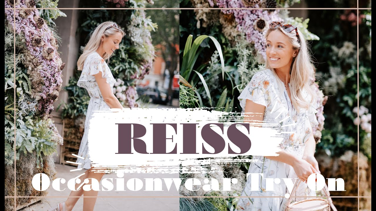 REISS SUMMER 2019 HAUL & TRY ON // Styling Summer Dresses & Occasionwear // Fashion Mumblr