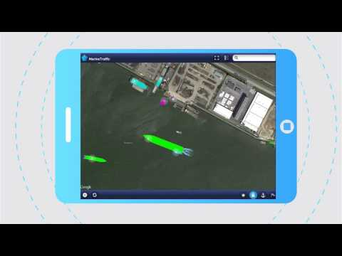 Video of MarineTraffic ship positions