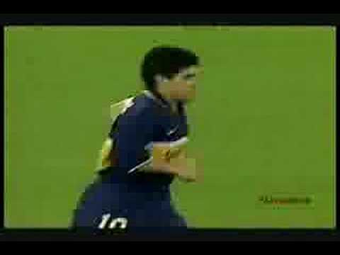 Maradona Vs Chilavert