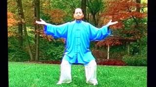 This is Li style Qigong for Health Series-Taiji Zhanzhuang Gong.This form with 18 posture, each posture should hold seconds or minutes. Gradually extend time.