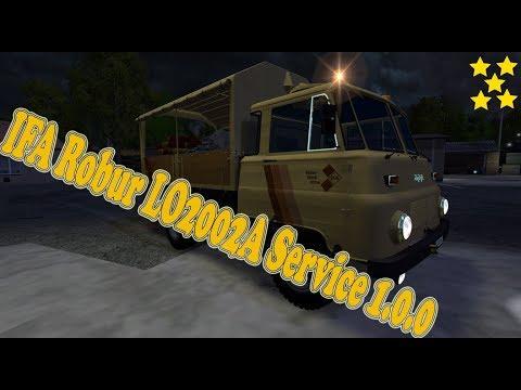 IFA Robur LO2002A Service v1.0