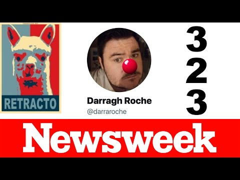 RETRACTION #323: Newsweek's Darragh Roche corrects fact that ballot harvesting shown was illegal!