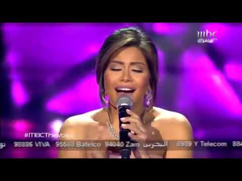 Sherine - Koly Melkak Live - The Voice S2  شيرين - كلى ملكك