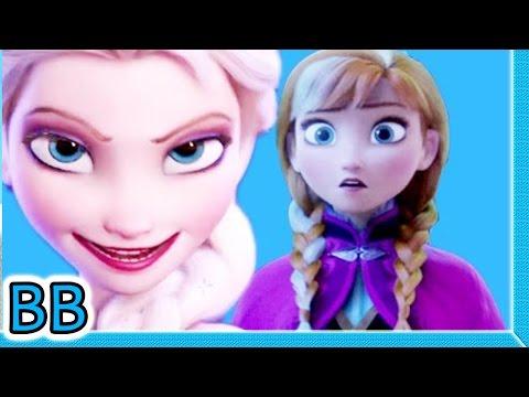 最近網路流行一部影片,使得原本溫馨的冰雪奇緣,轉眼之間變成邪惡姐姐謀殺全家的驚悚電影!