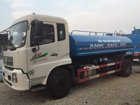 Hướng dẫn vận hành xe phun nước rửa đường Video
