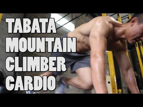 Tabata Mountain Climbers Core and Cardio Workout (видео)