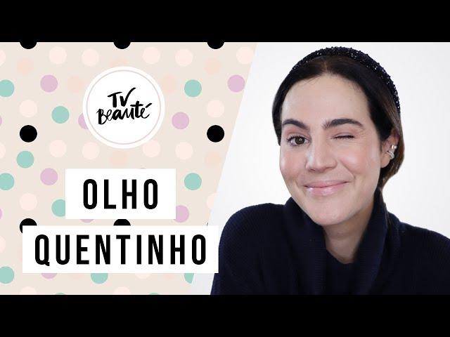Olho Quentinho com Esfumado Fácil no Côncavo  - TV Beauté | Vic Ceridono - Victoria Ceridono