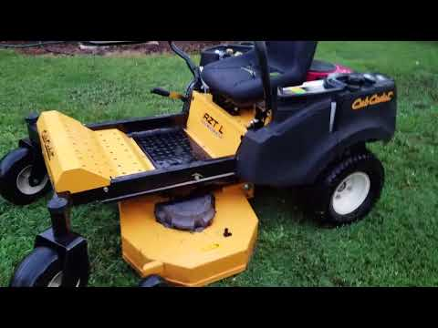 Cub Cadet Review and Deck Leveling How To