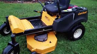 9. Cub Cadet Review and Deck Leveling How To